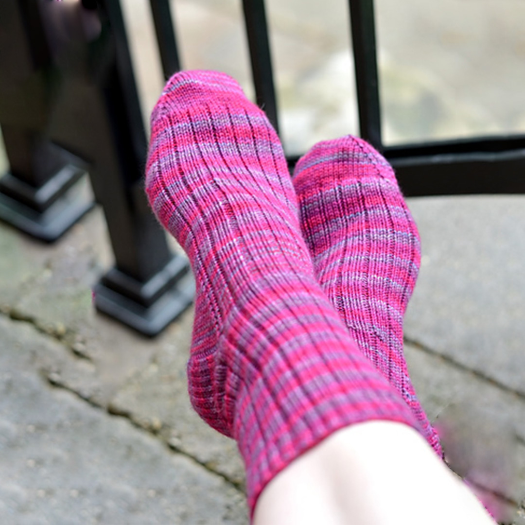 Image of A Nice Ribbed Sock
