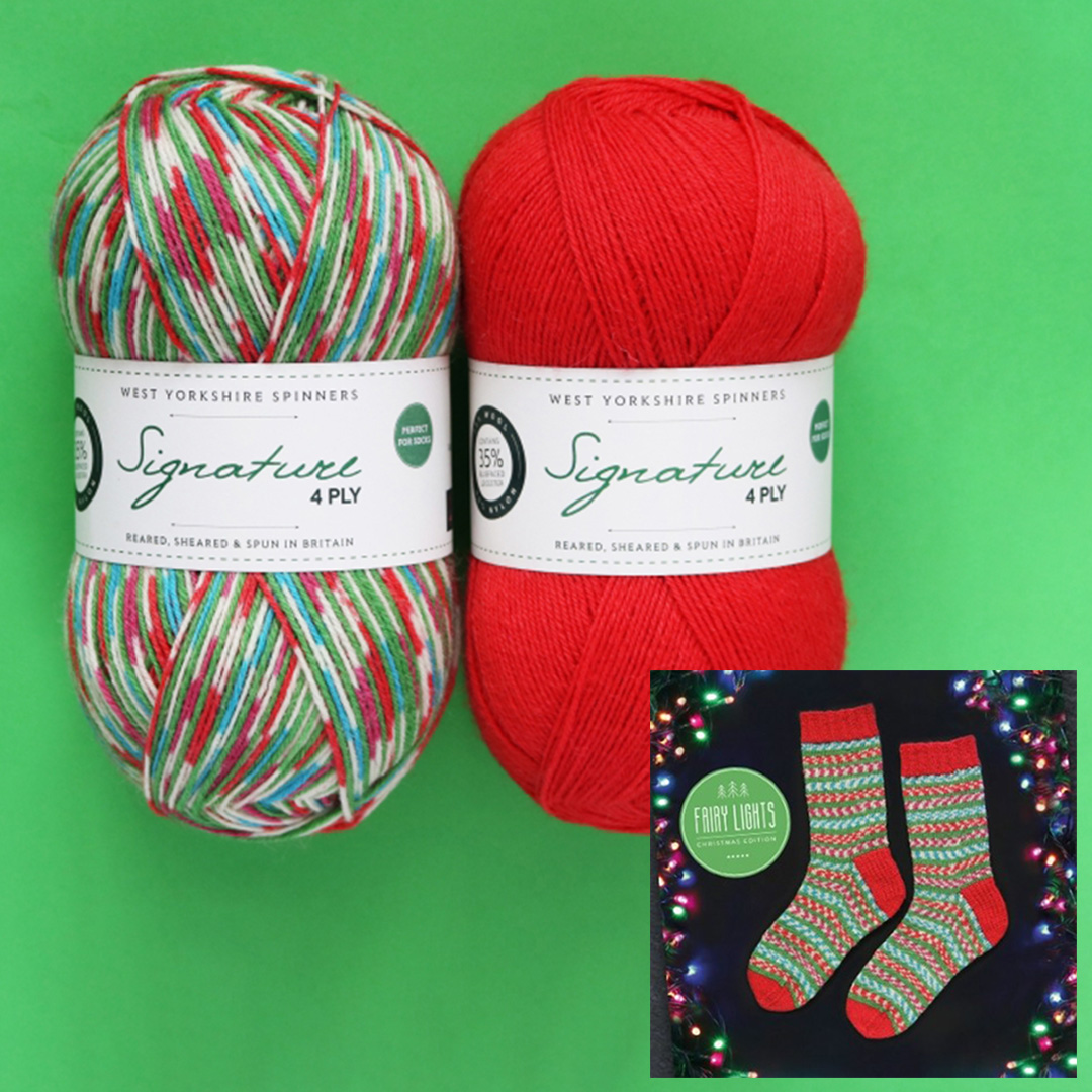 Image of WYS Fairy Lights Sock Kit