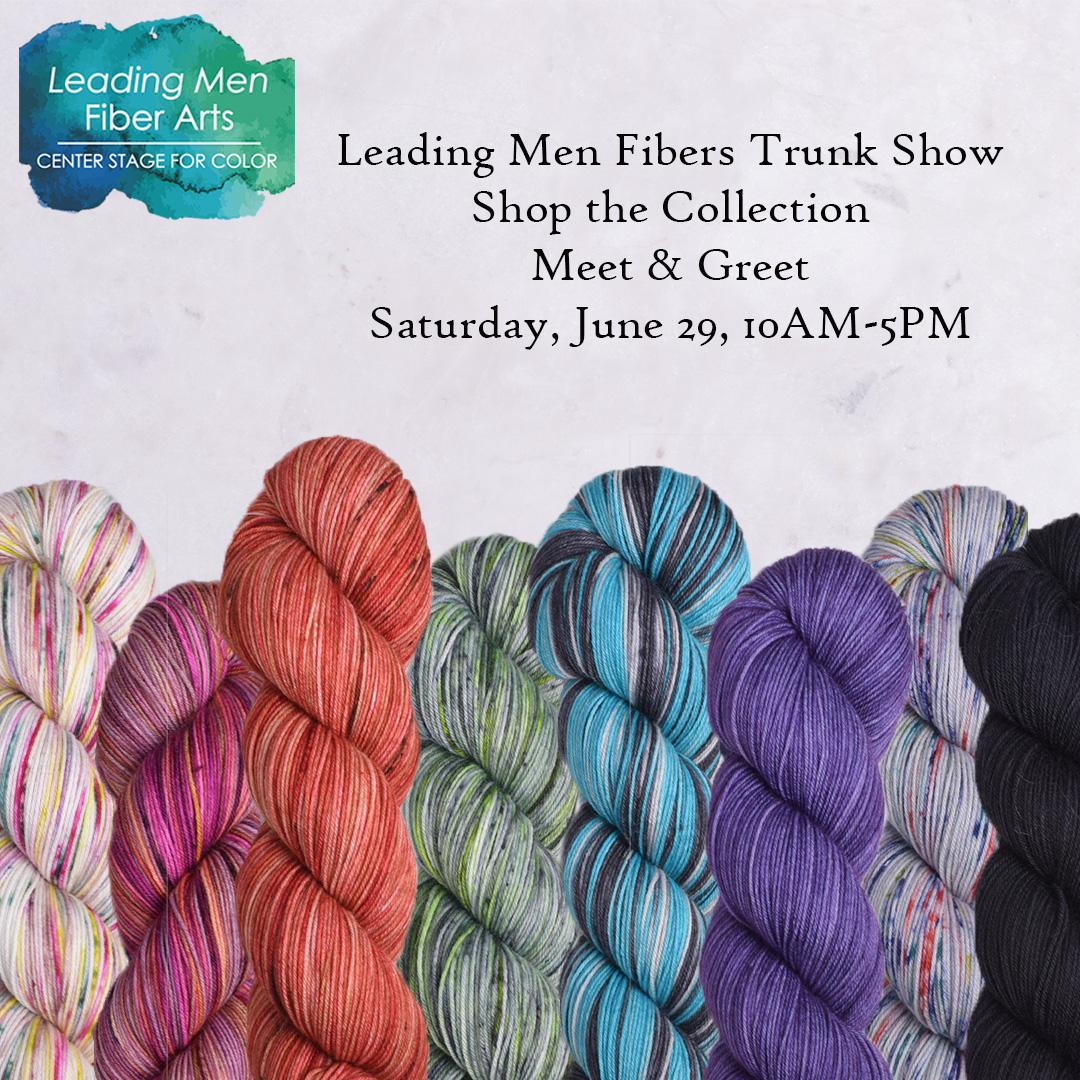 Image of Leading Men Fibers Trunk Show 6/29/19