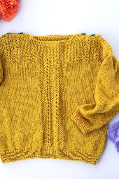 Image of Baby Fiddlehead Pullover