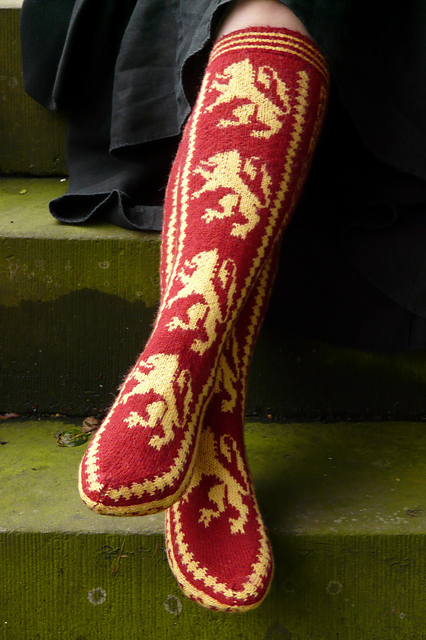 Image of Gryffindor Pride Socks