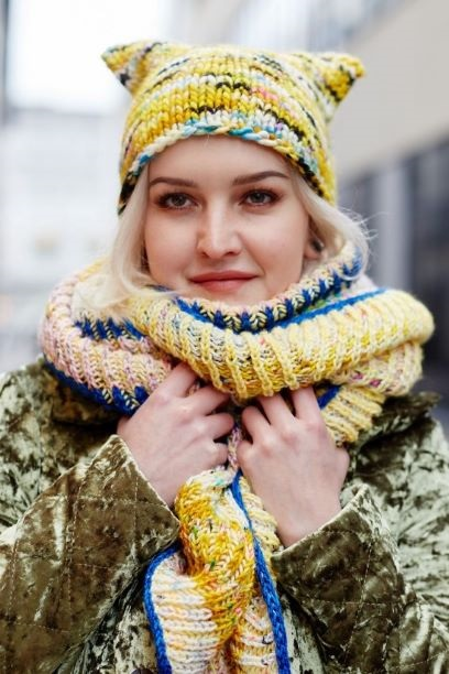 Image of Knit Knit Hat