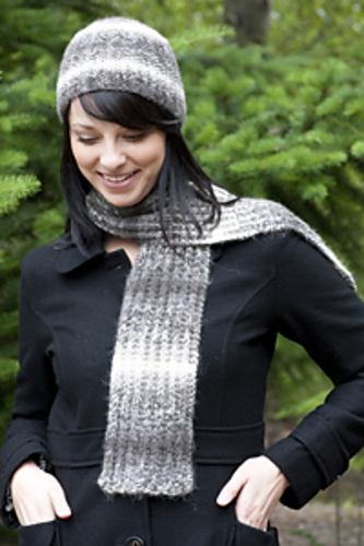 Image of Magic Rib Hat & Scarf