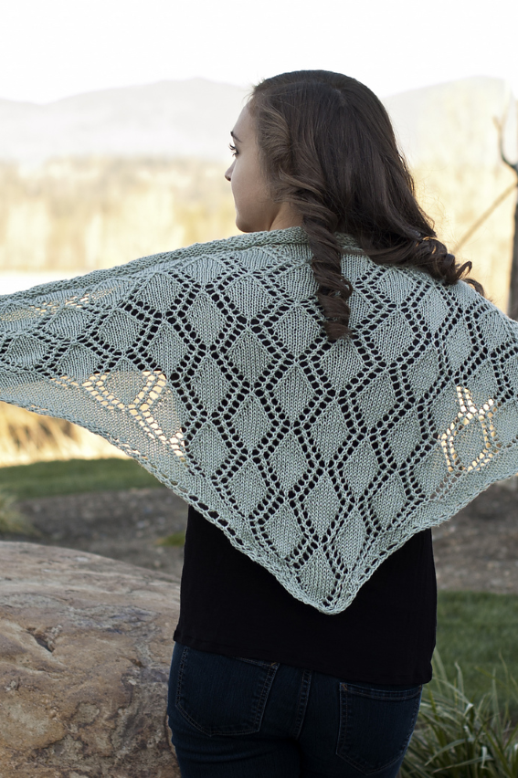 Image of Triangular Shawl