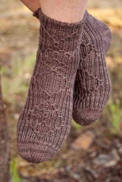 Image of Victorian Birdcage Socks